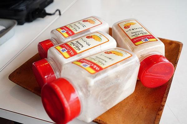 フレーバーは、バーベキュー・コンソメ・サワークリーム・チーズの4種類。どれにしようか迷ったら全部作っちゃうのが女子なんです♪