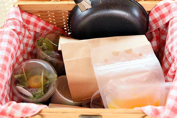 【プラン共通】朝食:ローストビーフバーガー