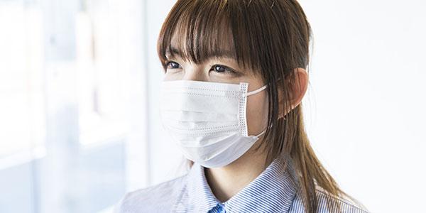 接客の際はマスクを着用