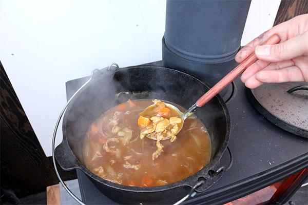 薪焼きカレー