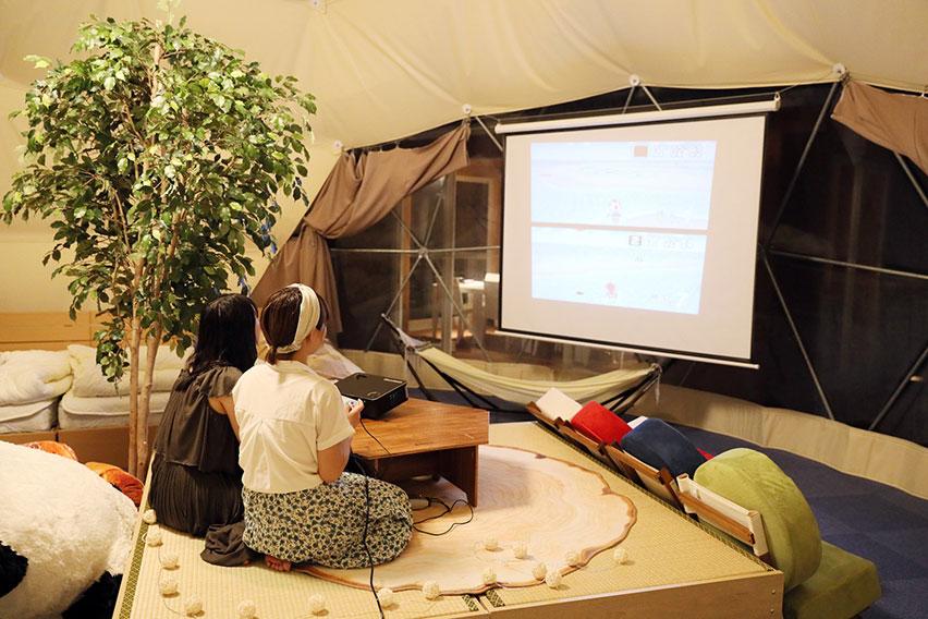 """ピング リソグラ グラン 滋賀県最大のグランピング施設が本日オープン!伊吹山を望むロケーションで""""非日常""""を味わえる。"""