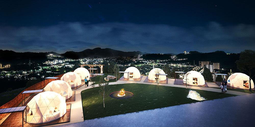 杓子 山 ゲートウェイ キャンプ